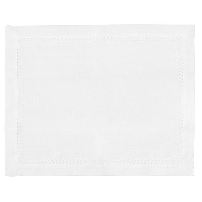 White Hemstitch Table Linens - Simple Life Istanbul   - 2