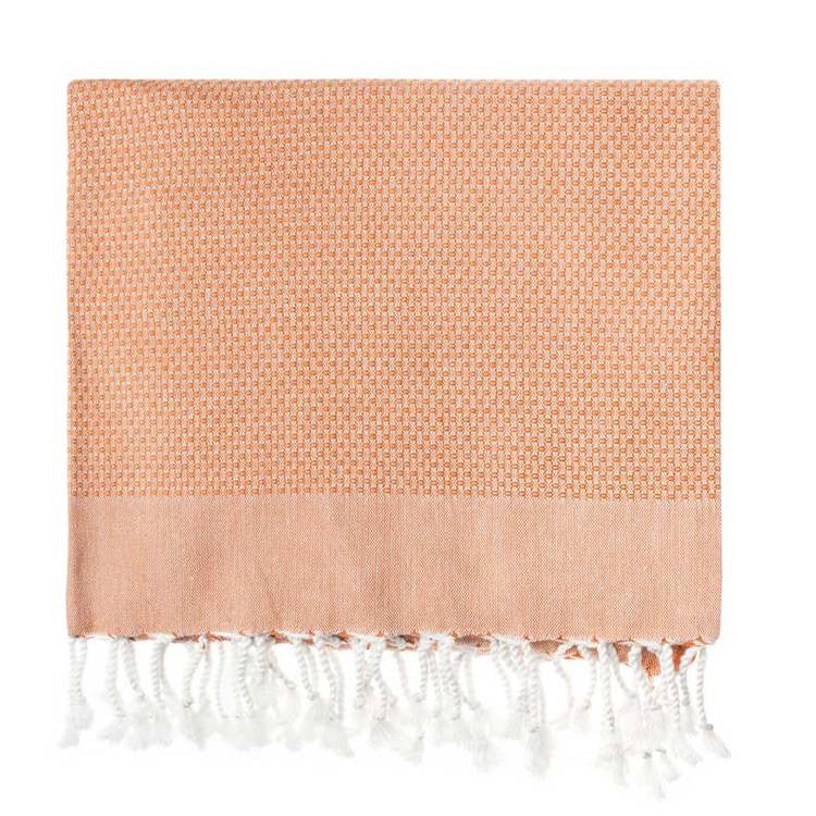 Cinnamon Honeycomb Turkish Peshtemal Towel - Simple Life Istanbul   - 2
