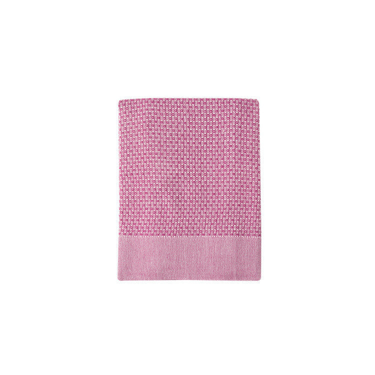 Fuchsia Honeycomb Turkish Peshtemal Towel - Simple Life Istanbul   - 3