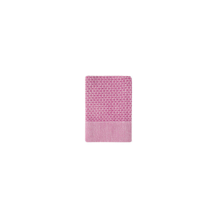 Fuchsia Honeycomb Turkish Peshtemal Towel - Simple Life Istanbul   - 4