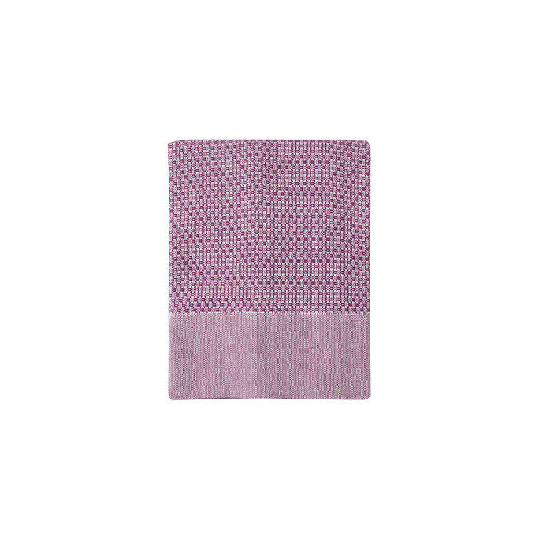 Plum Honeycomb Turkish Peshtemal Towel - Simple Life Istanbul   - 3