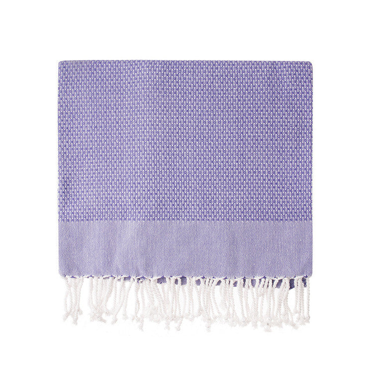 Violet Honeycomb Turkish Peshtemal Towel - Simple Life Istanbul   - 2