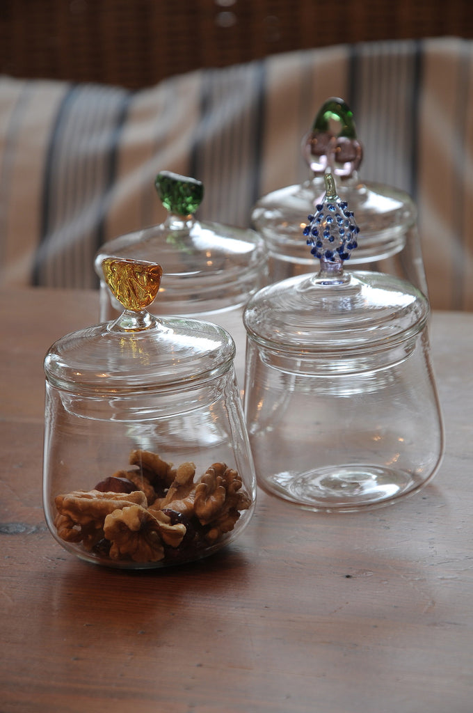 Lime Glass Jar - Simple Life Istanbul   - 2