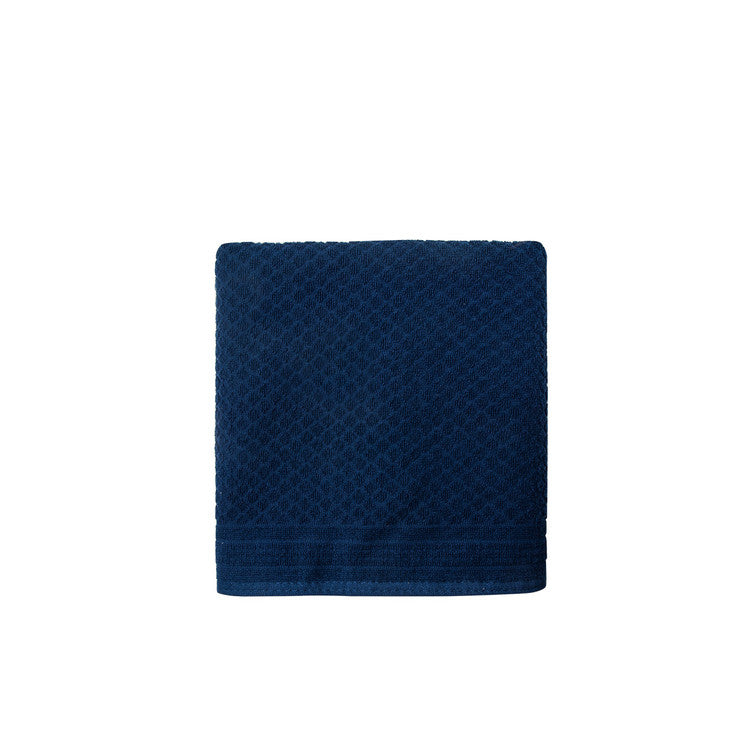 Navy Mosaic Towels - Simple Life Istanbul   - 3