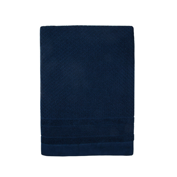 Navy Mosaic Towels - Simple Life Istanbul   - 2
