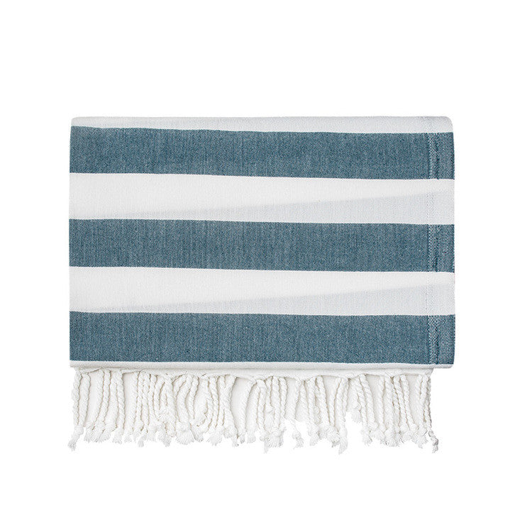 Ocean Silk Turkish Peshtemal Towel - Simple Life Istanbul