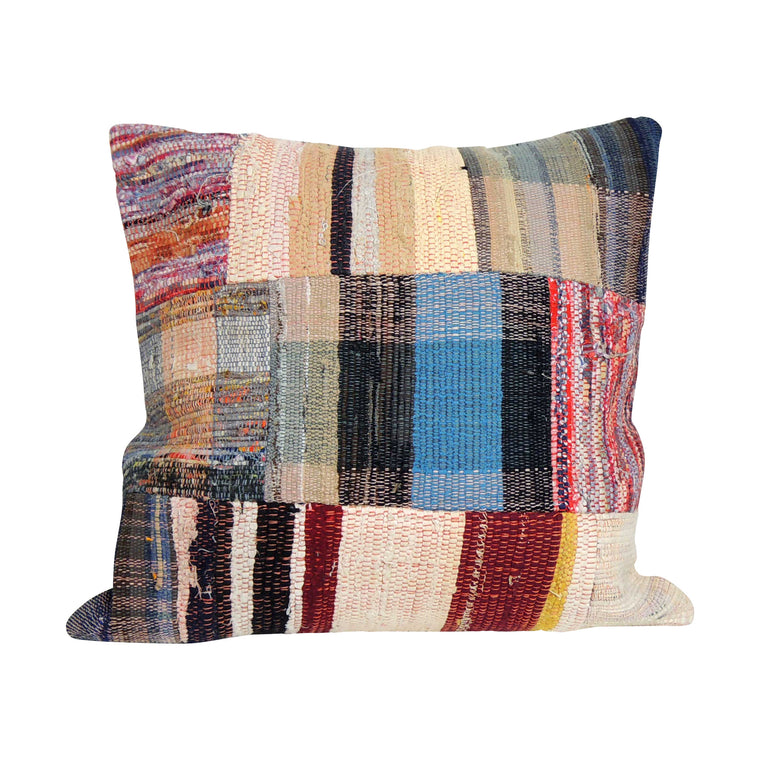 Square Kilim Pillowcase I - Simple Life Istanbul   - 1