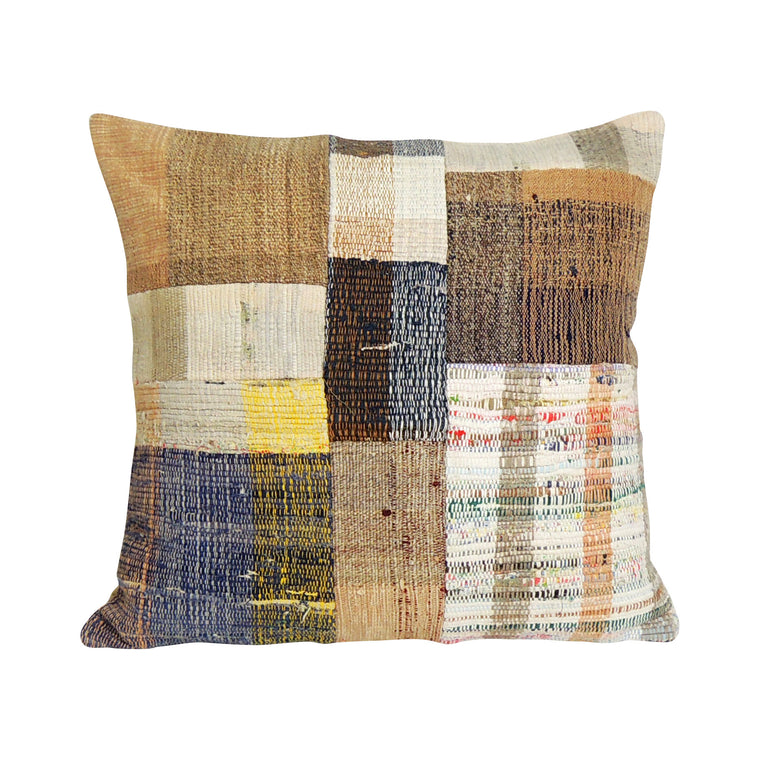 Square Kilim Pillowcase III - Simple Life Istanbul   - 1