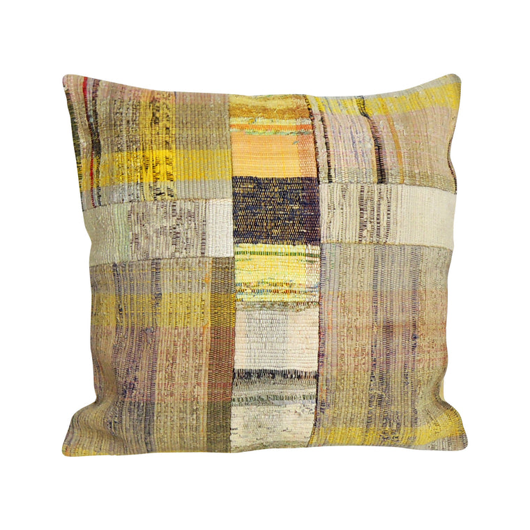 Square Kilim Pillowcase IV - Simple Life Istanbul   - 1