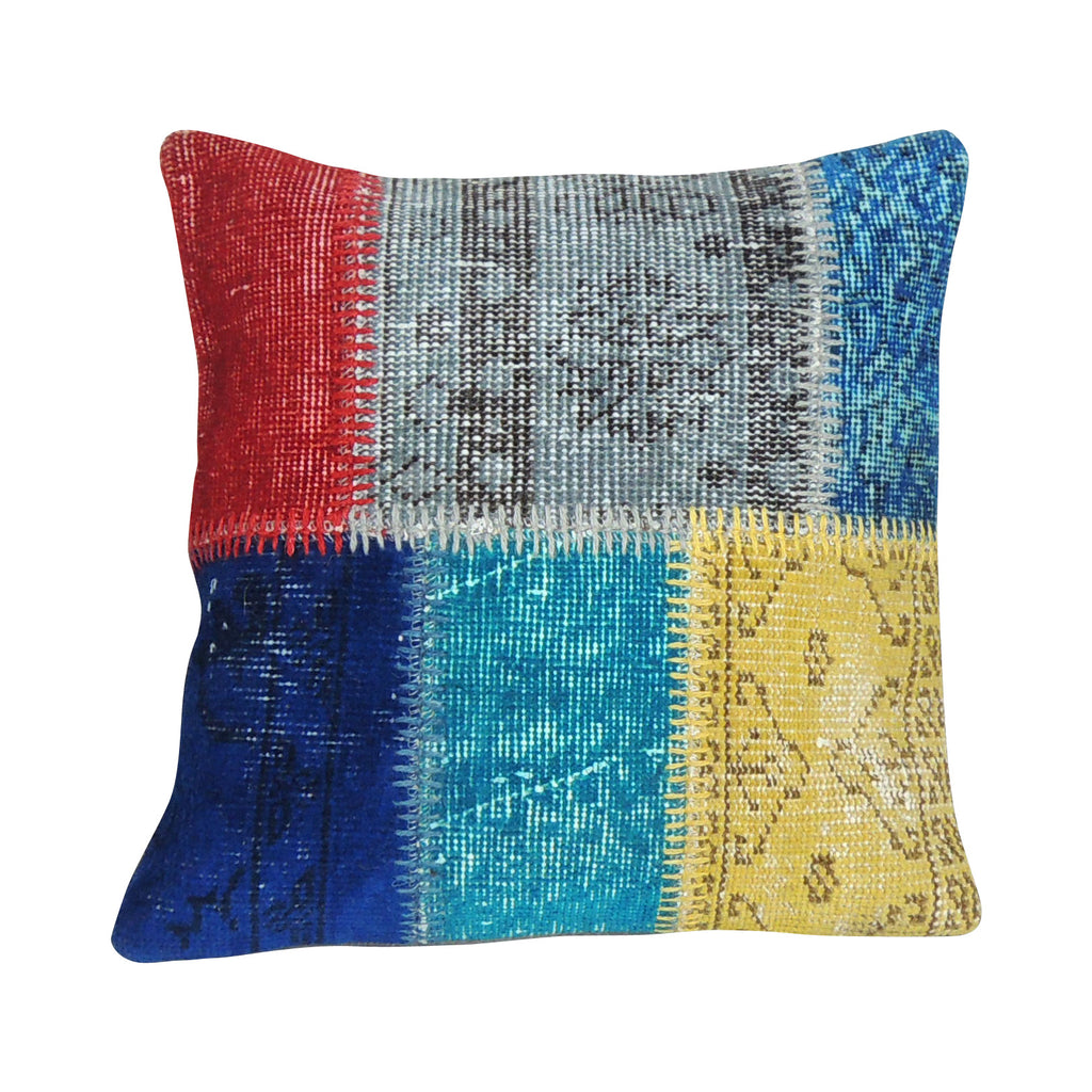 Carpet Patchwork Pillowcase IV - Simple Life Istanbul   - 1