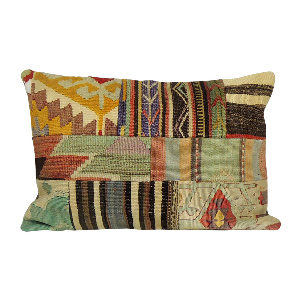 Rectangular Kilim Pillowcase IV - Simple Life Istanbul   - 1