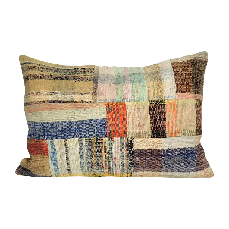 Rectangular Kilim Pillow V - Simple Life Istanbul   - 1