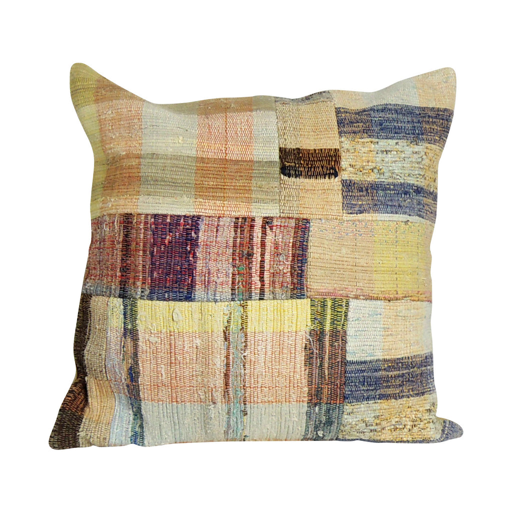 Square Kilim Pillowcase VIII - Simple Life Istanbul   - 1