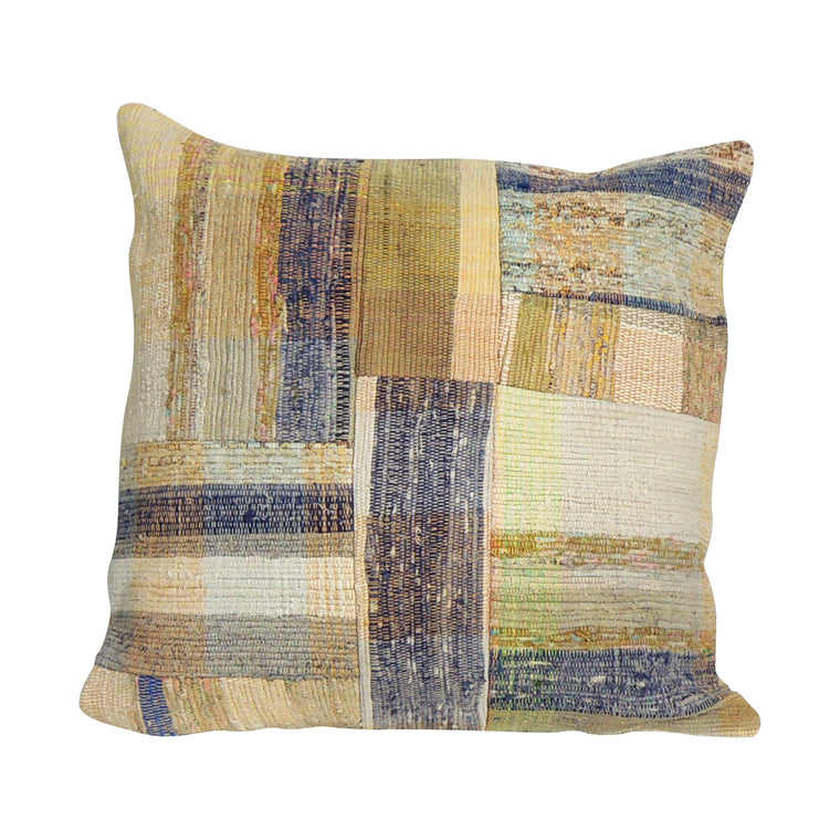 Square Kilim Pillowcase IX - Simple Life Istanbul   - 1