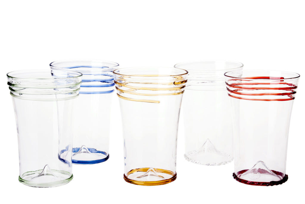 Clear Rings Water Glass - Simple Life Istanbul   - 2