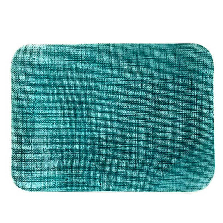 Aqua Vintage Rectangle Serving Platter - Simple Life Istanbul   - 1