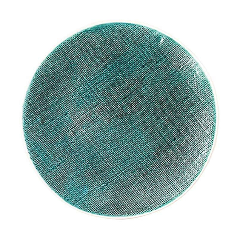 Aqua Vintage Round Serving Platter - Simple Life Istanbul   - 1