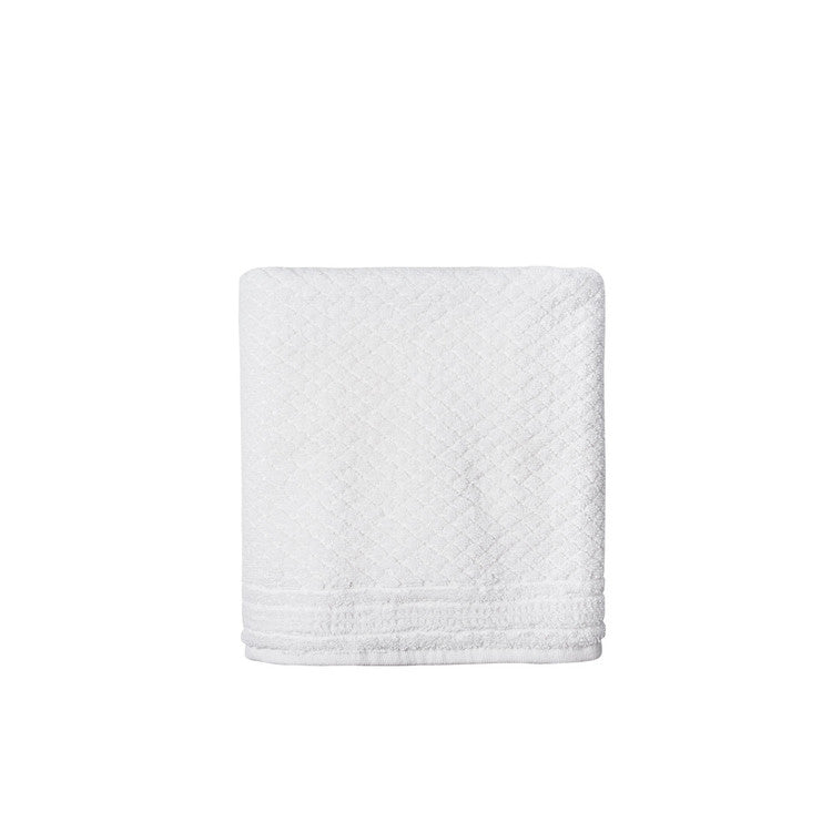 White Mosaic Towels - Simple Life Istanbul   - 3