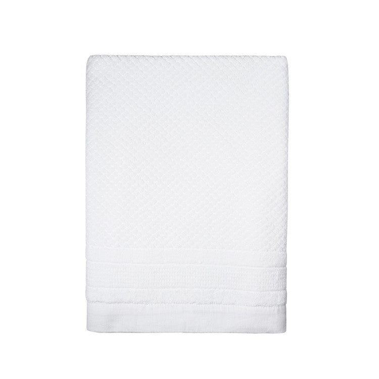 White Mosaic Towels - Simple Life Istanbul   - 2
