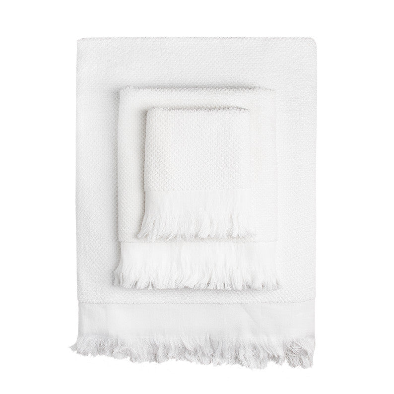 White Rice Towels - Simple Life Istanbul   - 1