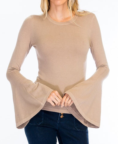 tori bell sleeve top
