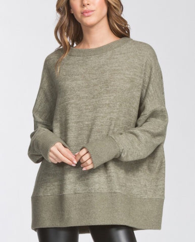 meli oversized sweatshirt
