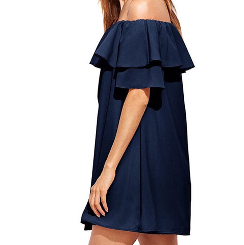 lauri off shoulder dress