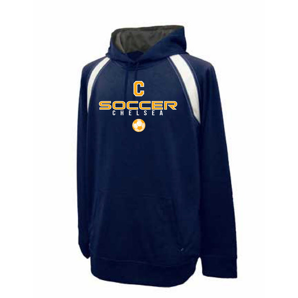 Adult Chelsea Soccer Performance Hoodie - Pick your Design