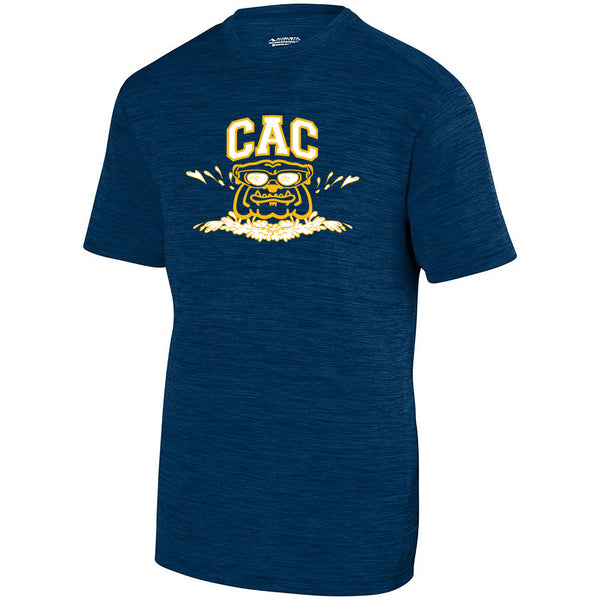 Adult CAC Shadow Training Tee - Navy