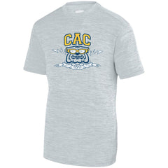Adult CAC Shadow Training Tee - Silver