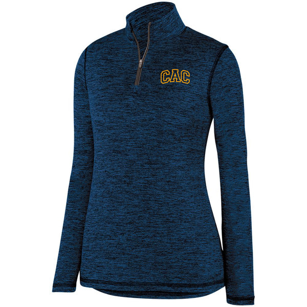 Ladies CAC Intensify 1/4 Zip - Logo2