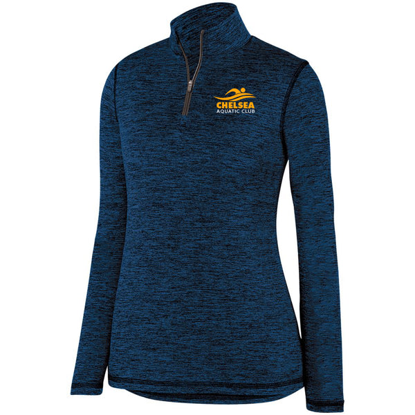 Ladies CAC Intensify 1/4 Zip - Logo1