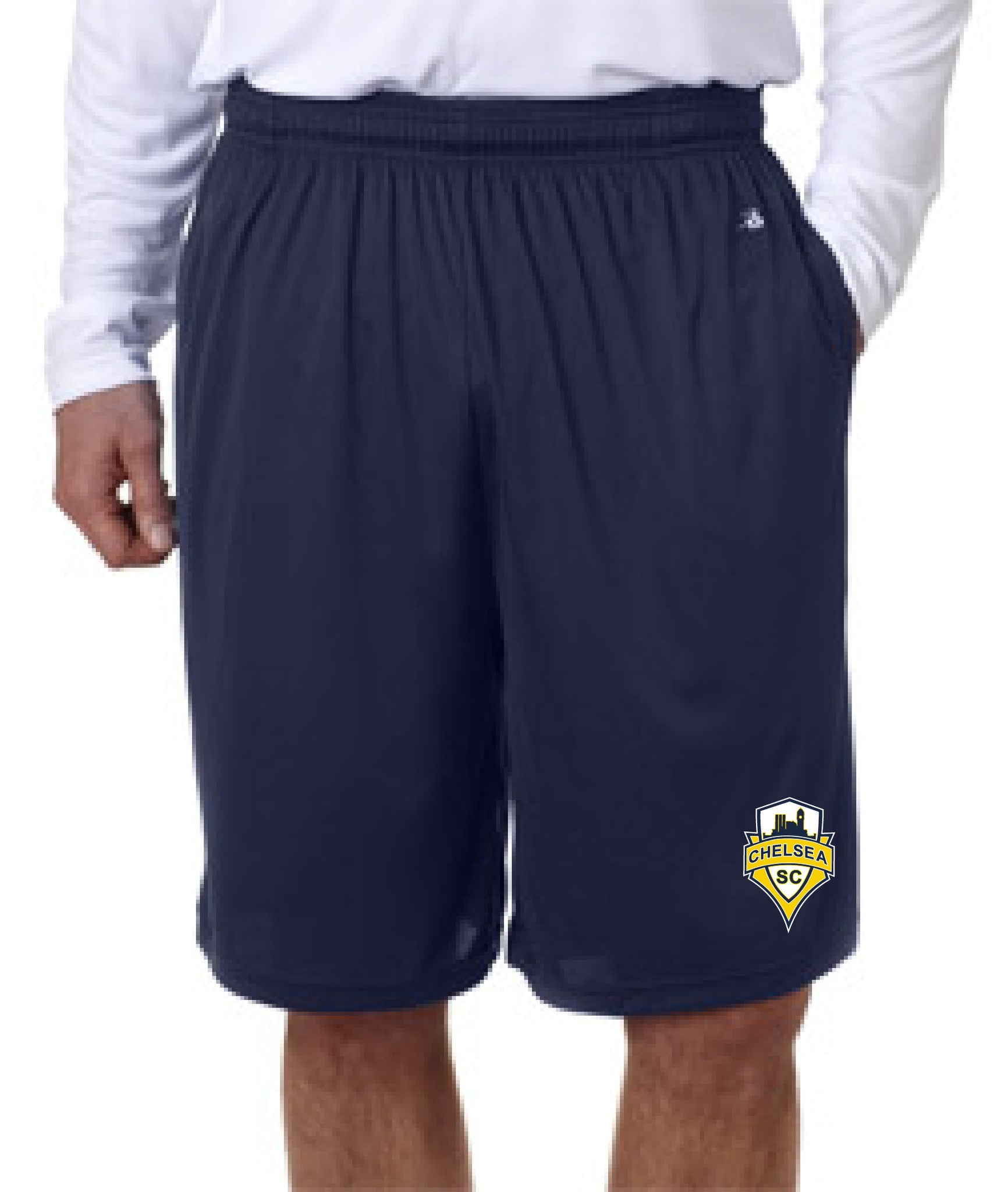 Adult Chelsea SC Shorts w/Pockets