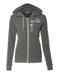 Ladies Eco-Fleece Full-Zip Hooded Sweatshirt