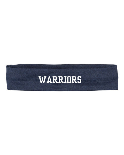 Grass Lake Warriors Headband - Navy