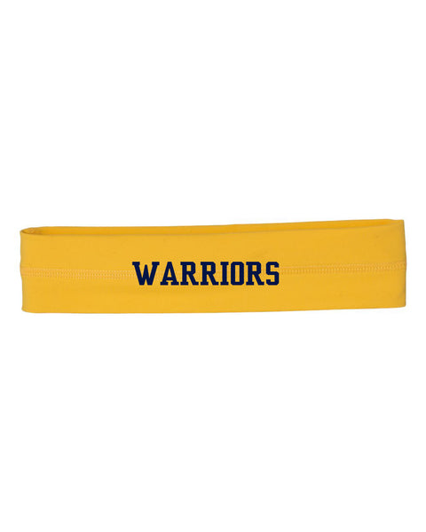 Grass Lake Warriors Headband - Athletic Gold