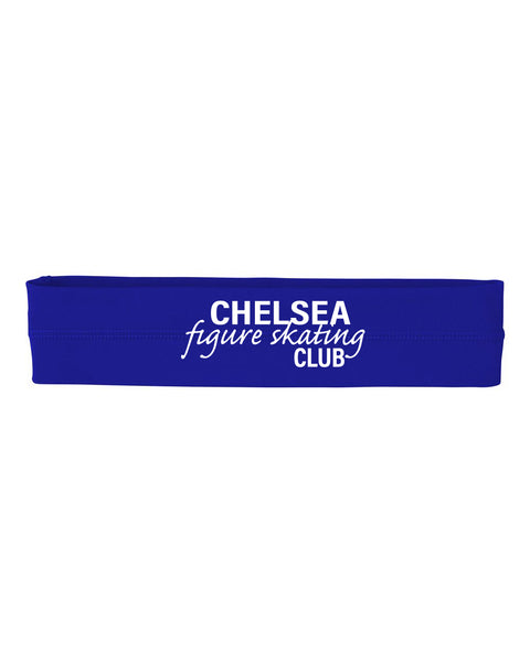 Chelsea Figure Skating Headband - Royal
