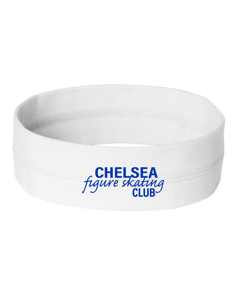 Chelsea Figure Skating Headband - White