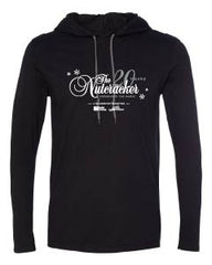 Adult Ballet Chelsea Nutcracker LS Hooded Tee - Black