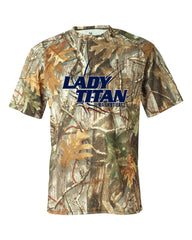 Adult Lady Titans Basketball D2 B-core Performance Camo Shirt