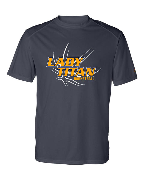 Adult Lady Titans Basketball D2 B-core Performance Shirt