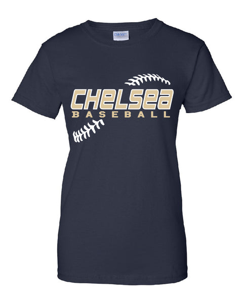 Ladies Baseball Cotton T-Shirt - CB001