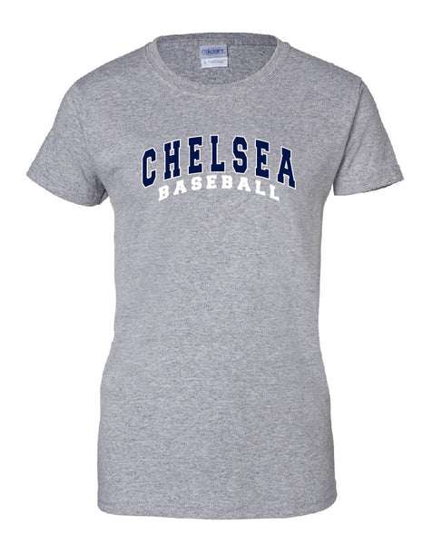 Ladies Baseball Cotton T-Shirt - CB003