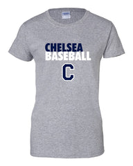Ladies Baseball Cotton T-Shirt - CB004