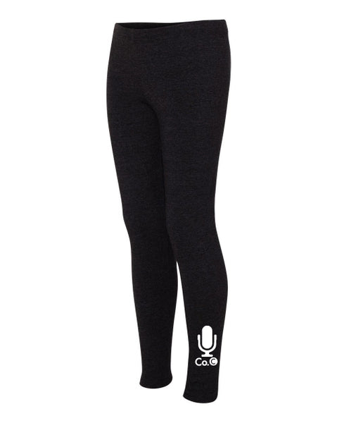Ladies Company C Leggings - Black