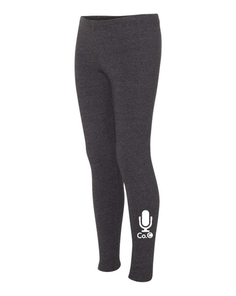 Ladies Company C Leggings - Charcoal