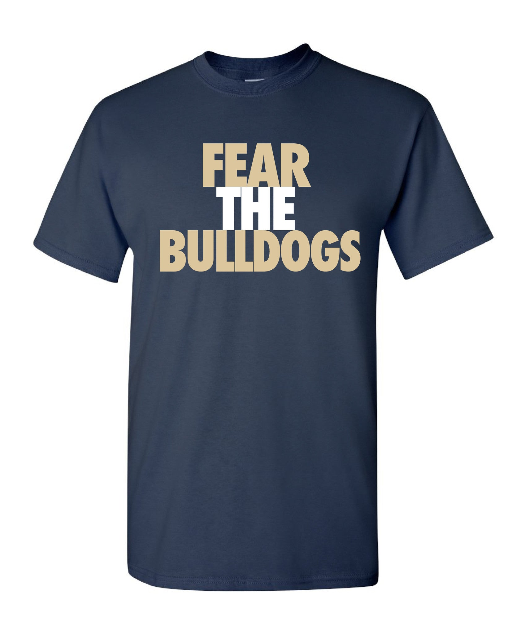 Youth Bulldogs Cotton T-Shirt - CB017