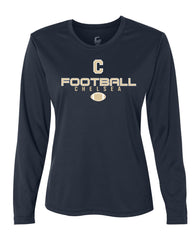 Ladies Chelsea Football Long-Sleeve Performance Shirt - D001