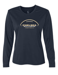 Ladies Chelsea Football Long-Sleeve Performance Shirt - D009
