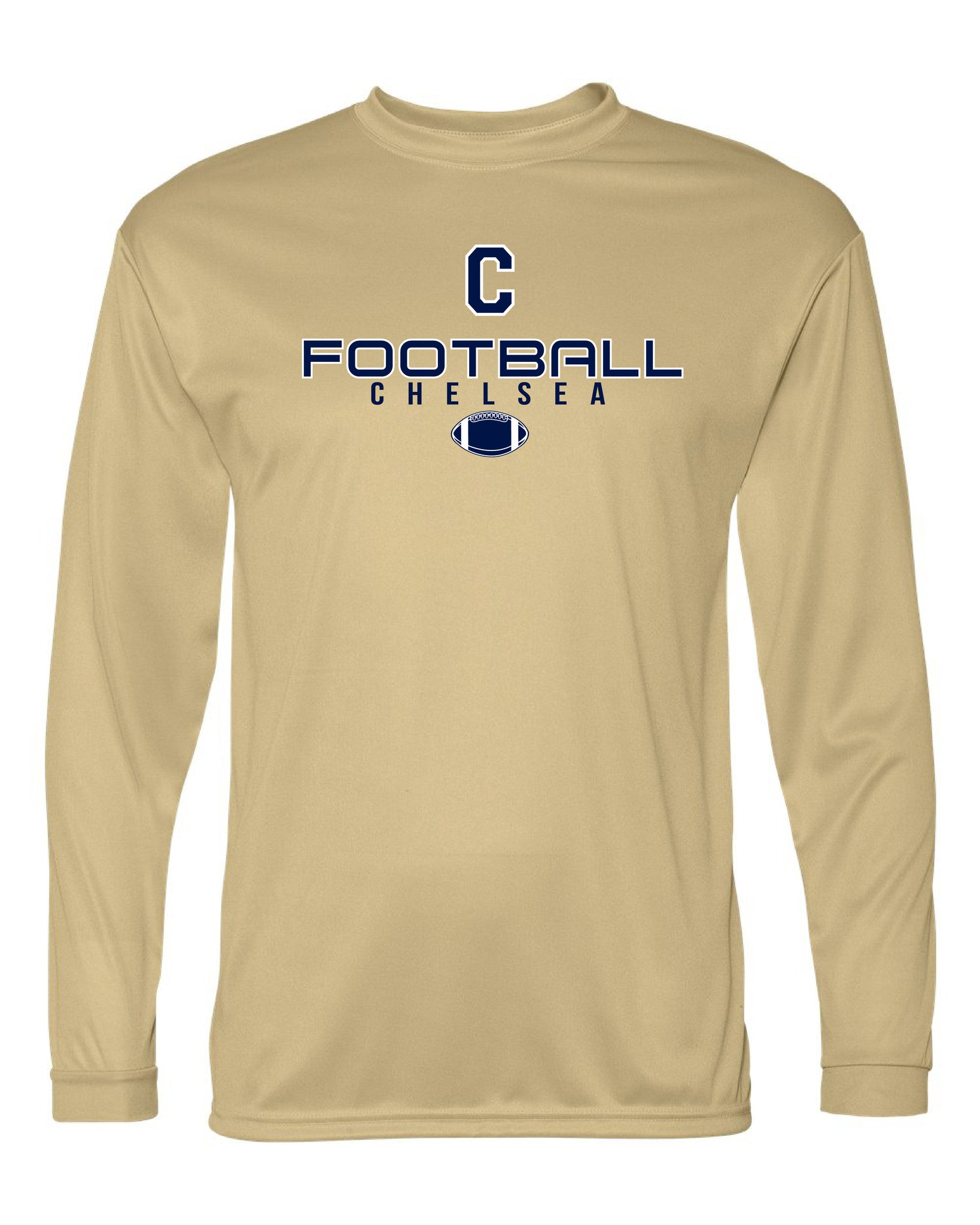 Youth Chelsea Football Long Sleeve Performance Shirt - D001